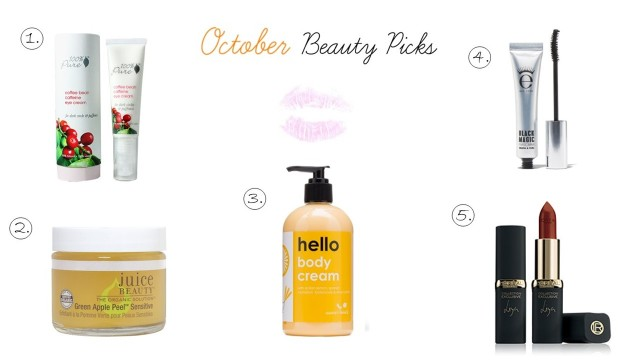 OctoberBeautyPicks