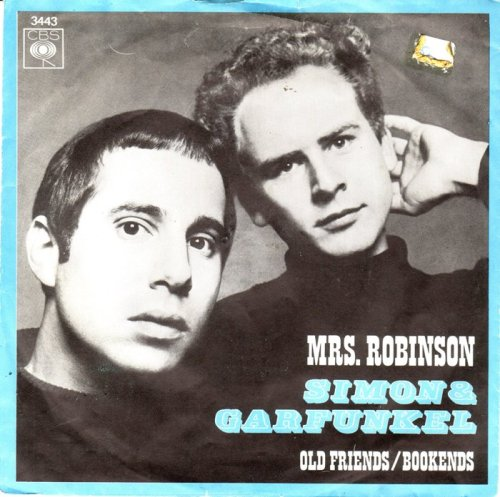 simon and garfunkel mrs.robinson