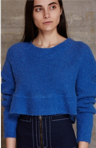 Rachel Comey Boucle Cropped Pullover