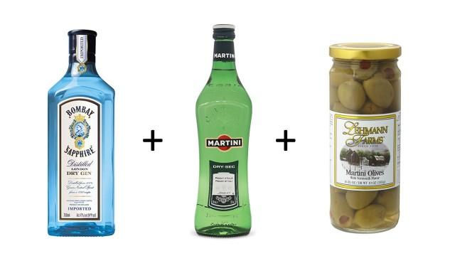 dirty-martini-ingredients