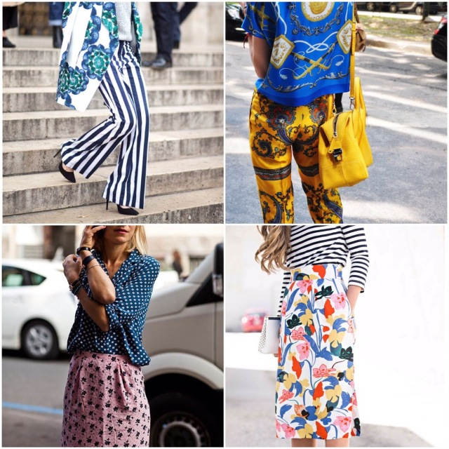 mixed-prints-streetstyle-collage