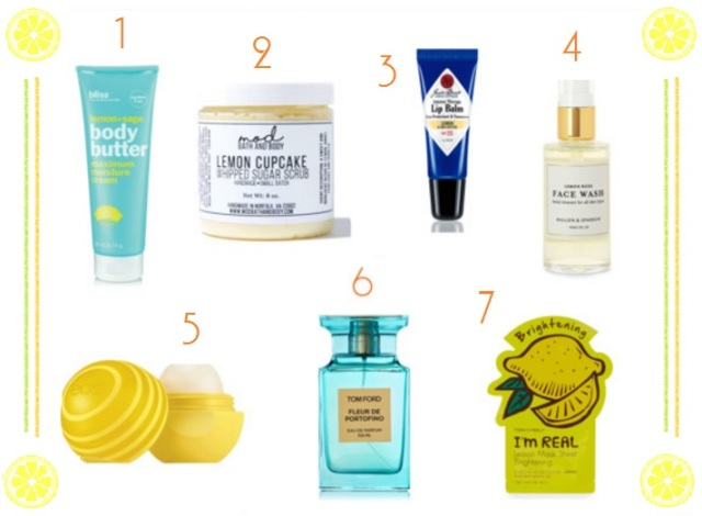 lemon-beauty-products