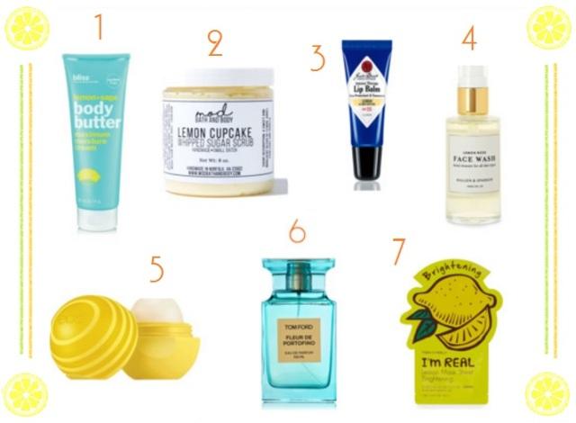 lemon-beauty-products