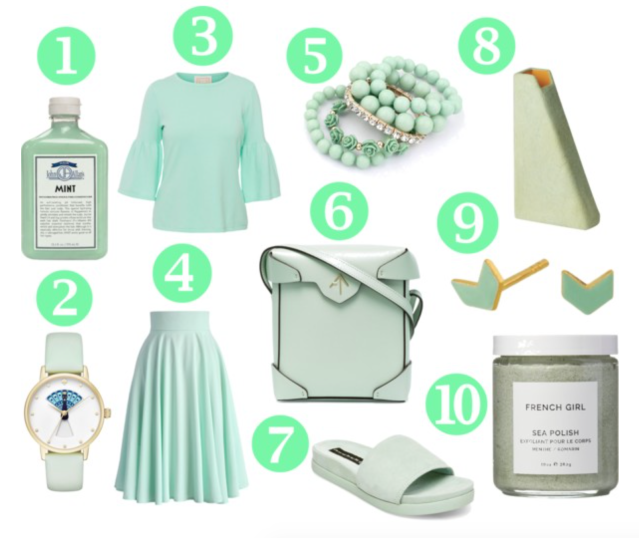 sweet-mint-green-fashion-style-shopping-list